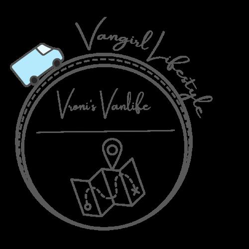 Vangirl Lifestyle Logo von Vroni's Vanlife