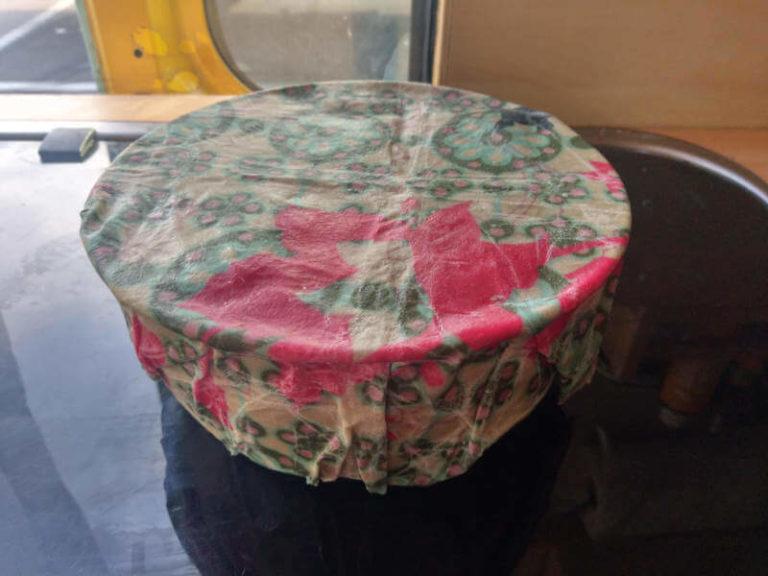 Wachs-Tuch als Weihnachtsgeschenk Idee von Vroni's Vanlife
