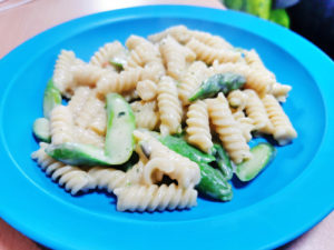 Pasta mit grünem Spargel - One Pot Rezept
